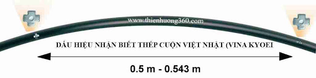 Cách chọn Thép: Nhận biết thép cuộn Việt Nhật