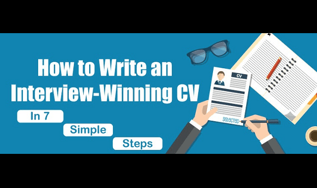 7 steps to writing an interview-winning CV