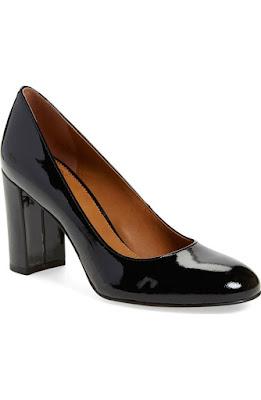 zapatos de charol con tacon alto