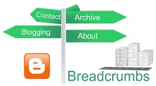 Cara Memasang Breadcrumb di atas Judul Posting Blog