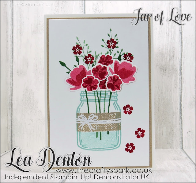 Spring Time Jar of Love Card