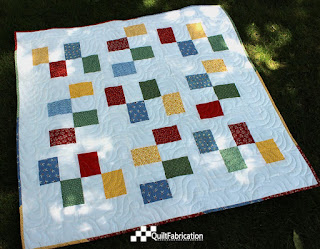 Baby Alternating Blocks quilt