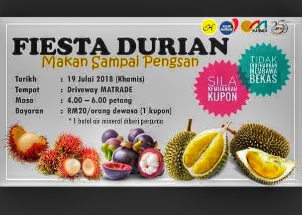 Fiesta Durian @ Office