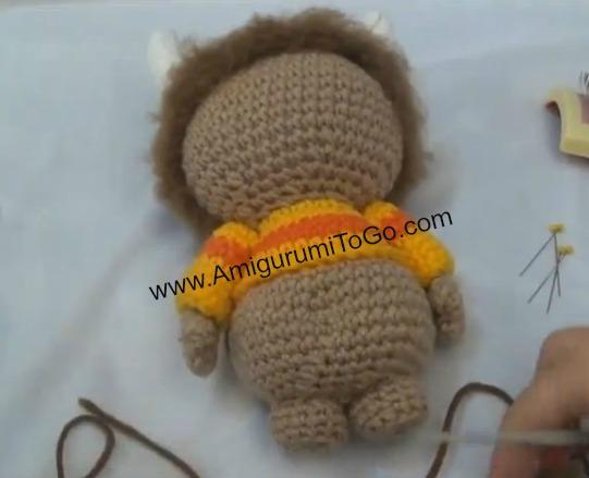 Amigurumi Monster Pattern Free Crochet : Unnamed monster pattern with video amigurumi to go