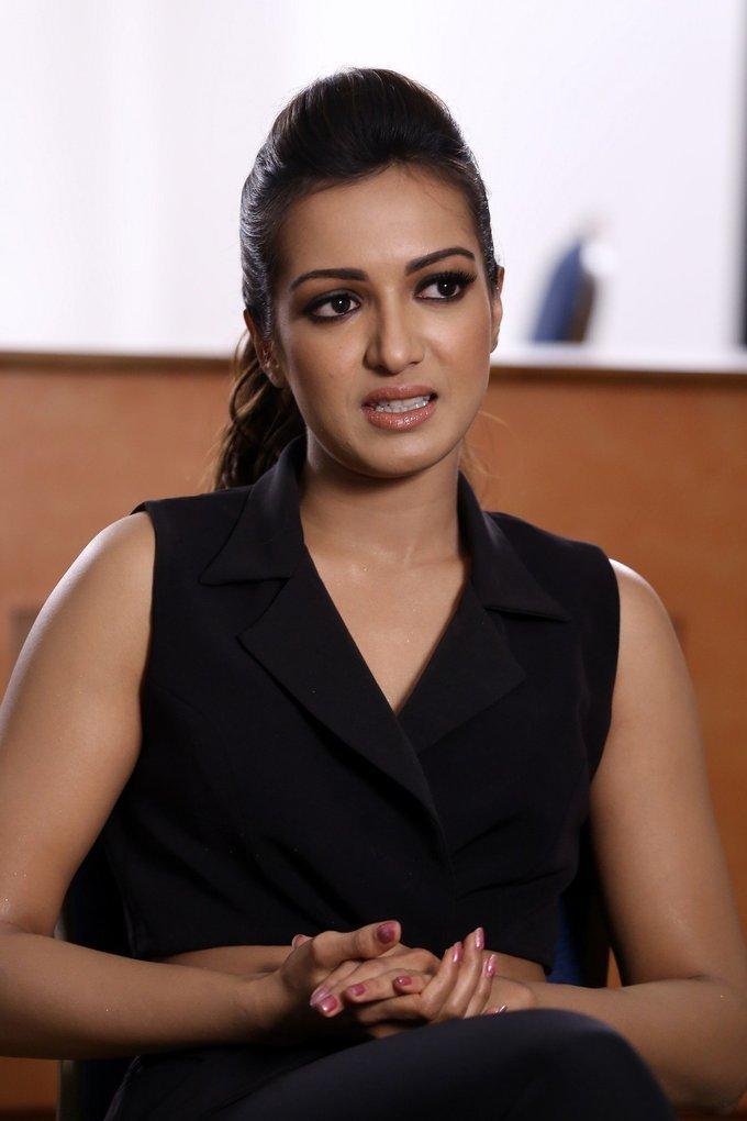 Catherine Tresa Interview About Goutam Nandha Photos