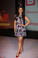 Kyra Dutta in a Deep neck Small Dress at Shamanthakamani pre release function ~  Exclusive 102.JPG
