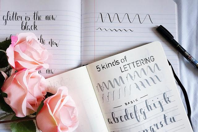 Bullet Journal Lettering
