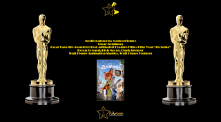 oscar favorite best animated feature film award zootopia