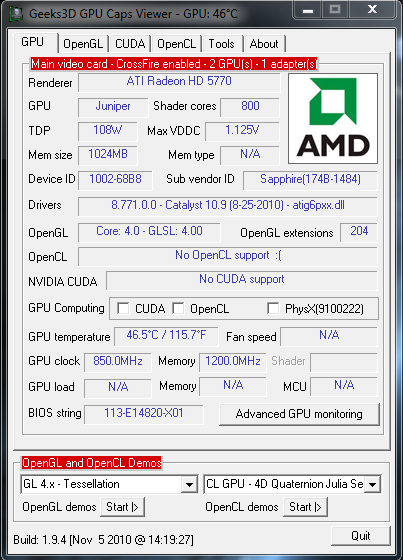 GPU Caps Viewer Download Free for Windows, GPU Caps Viewer Review