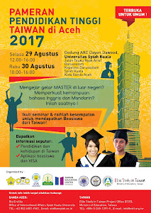 2017 Taiwan Education Fair in Aceh @ Unsyiah on August 29&30