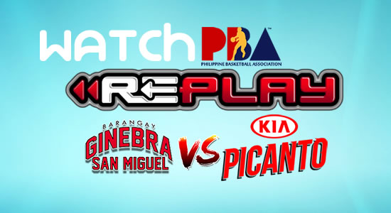Video List: Ginebra vs Kia game replay February 7, 2018 PBA Philippine Cup