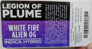 "Georgetown Cannabis ""Legion of Plume "" Label"