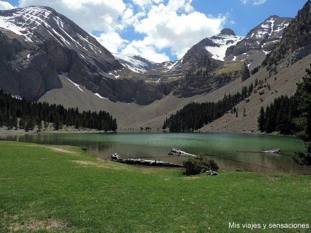 Ibón de Plan o Basa de la Mora, Pirineo Aragonés