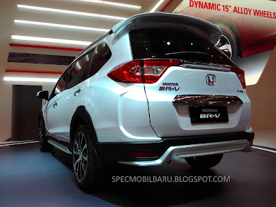 "Honda BR-V equipped with 16"" wheels will give the tough feel of an SUV"