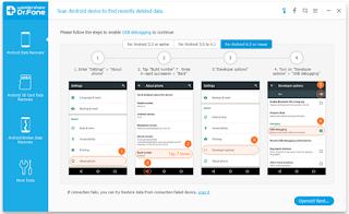 Cara Mengembalikan File Foto Yang terhapus Dengan Wondershare Dr.Fone di Android