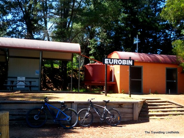 Eurobin Station Murray to Mountains Rail Trail