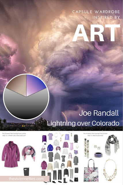 How to Build a Capsule Wardrobe: Starting From Scratch: Adding Variety, based on Lightning over Colorado by Joe Randall