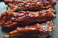 Sticky Sweet Chilli Pork Ribs ~ Simple Food
