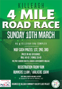 4 mile in East Cork - Sun 10th Mar 2019