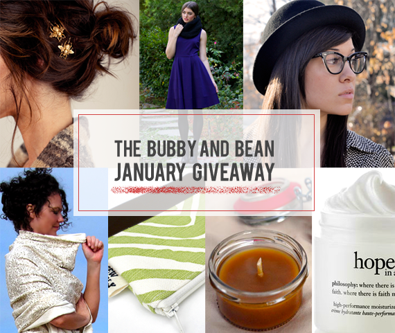 The Bubby and Bean January Giveaway // Win 7 Prizes Worth $365!
