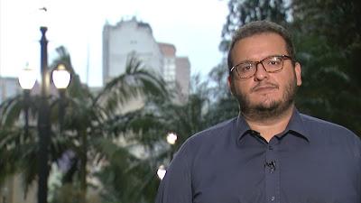 O repórter Juliano Dip na série de reportagens - Divulgação/Band