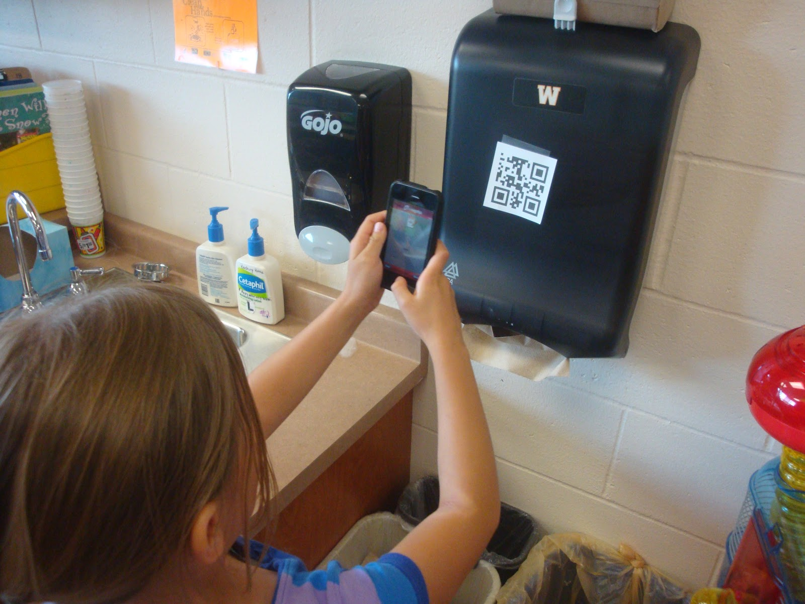 1st Grade Technology Blog Qr Codes In The Classroom