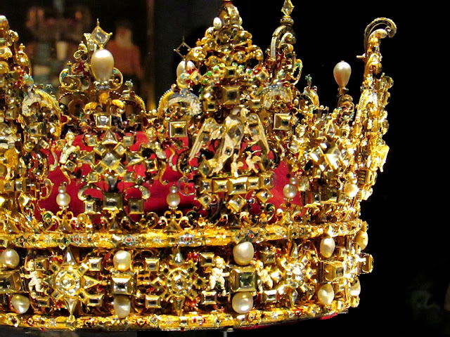 Danish Crown Jewels at Rosenborg Slot, Copenhagen
