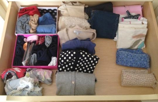 Organizar un armario compartido alrededor de ana - Organizar ropa interior ...