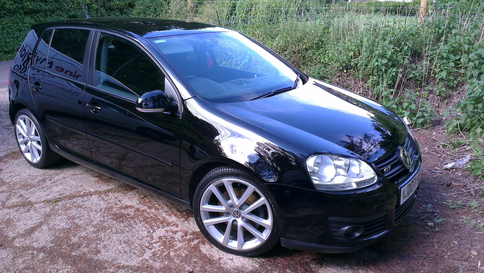 shine my ride mobile car valeting in somerset 2007 vw golf gt tdi 170 exterior pre sale valet. Black Bedroom Furniture Sets. Home Design Ideas