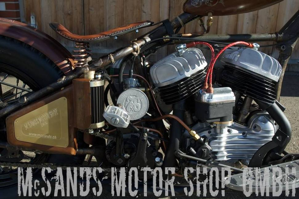 Harley Brothers Mc Sands Motor Shop