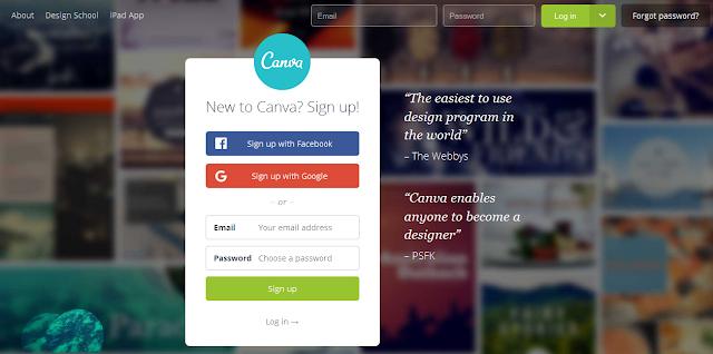 Canva es una herramienta interactiva para diseñar.