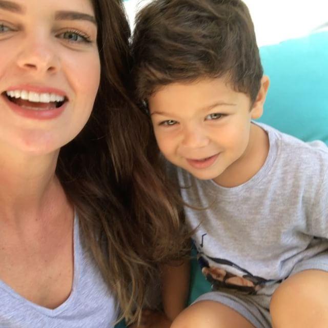 Pelin Karahan și fiul ei, Ali Demir