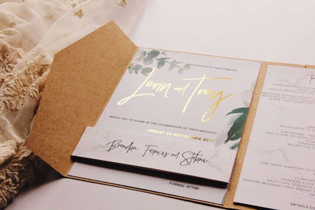 MELBOURNE BESPOKE HANDCRAFTED WEDDING INVITATIONS STATIONERY SIGNAGE