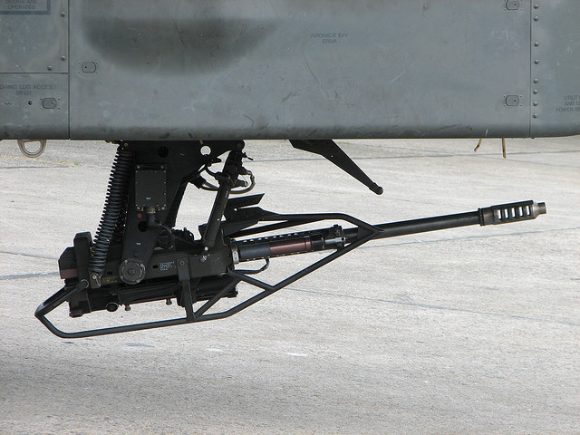 M230 30mm cannon Apache AH 64