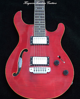 image Haywire Custom Guitars F-335 Semi-Hollow Guitar