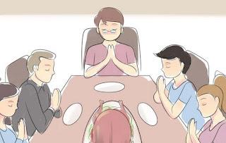 fa rugaciune si inchina-te inainte de masa