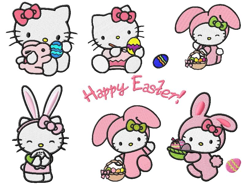 hello kitty easter wallpapers - photo #6