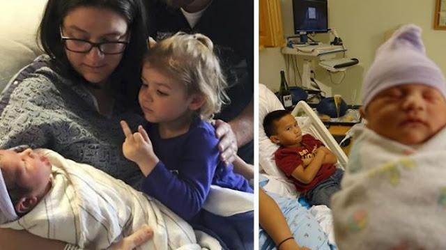 Siap Ngakak! 7 Ekspresi Kekesalan Sang Kakak Yg Baru Punya Adik Bayi