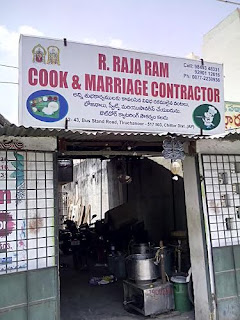 R Raja Ram Cook & Marriage Contractor