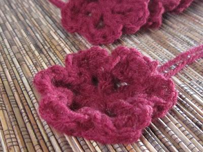 flowers, crochet, Mom's Afghan