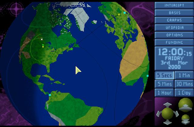Open Xcom - Globe Screenshot