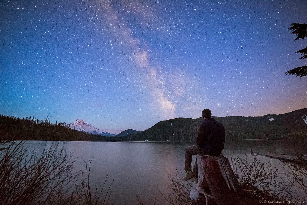 5. Lost Lake at Mount Hood - The World at Night with Clear Skies and No Light Pollution