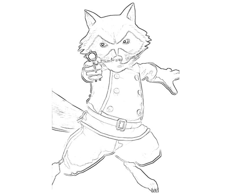 rocket raccoon coloring pages | Rocket Raccoon And Groot Pages Coloring Pages
