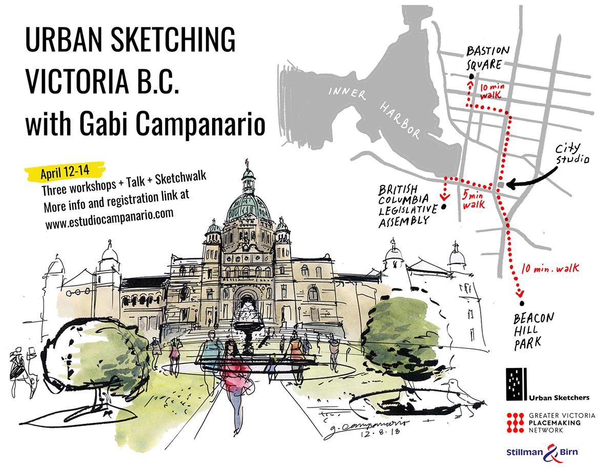 6231370334e Urban Sketching Victoria B.C. with Gabi Campanario