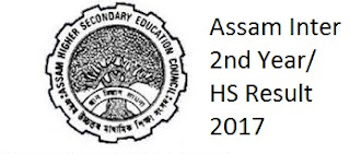 Assam Inter 2nd Year Result