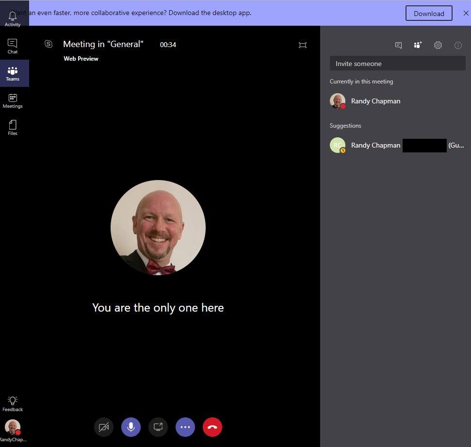 Randy's Lync, Skype, Teams and UC Blog: Microsoft Teams gets