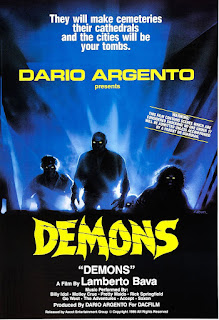 Demons / Demoni (1985) by Dario Argento / Lamberto Bava Movie poster
