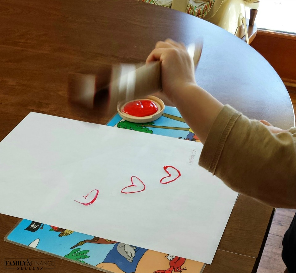 Cheap Valentine's Day Craft for Toddlers