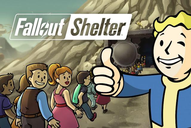 تحميل لعبة fallout shelter للكمبيوتر والموبايل الاندرويد برابط مباشر من ميديا فاير