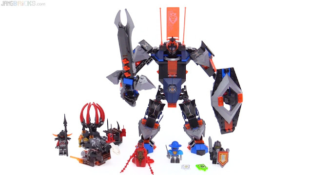 Lego Nexo Knights Black Knight Mech Review 70326
